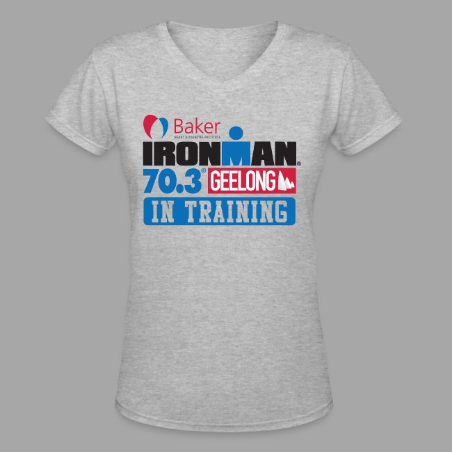 70.3 Geelong In Training Women's V-Neck T-shirt