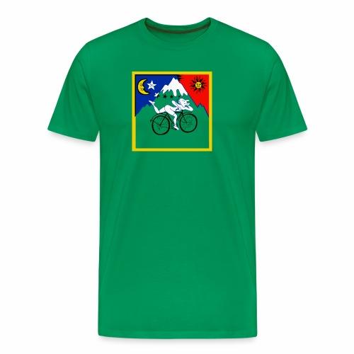 Bicycle Day Green Mens - Men's Premium T-Shirt