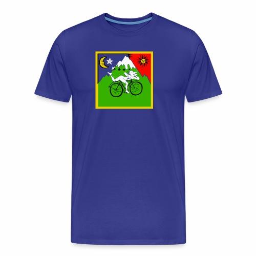 Bicycle Day Blue Mens - Men's Premium T-Shirt