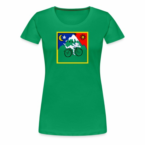 Bicycle Day Green Women - Women's Premium T-Shirt