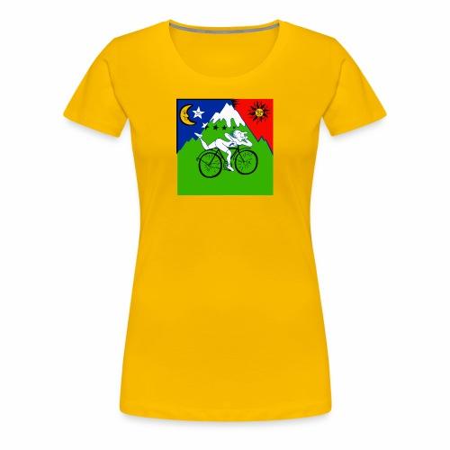 Bicycle Day Yellow Women - Women's Premium T-Shirt