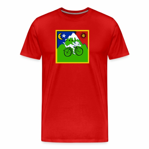 Bicycle Day Red Mens - Men's Premium T-Shirt