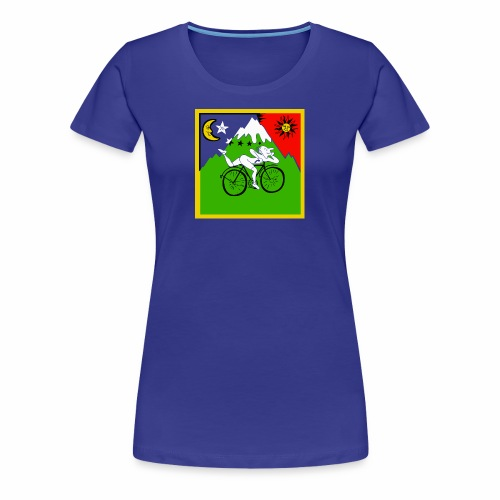 Bicycle Day Blue Women - Women's Premium T-Shirt
