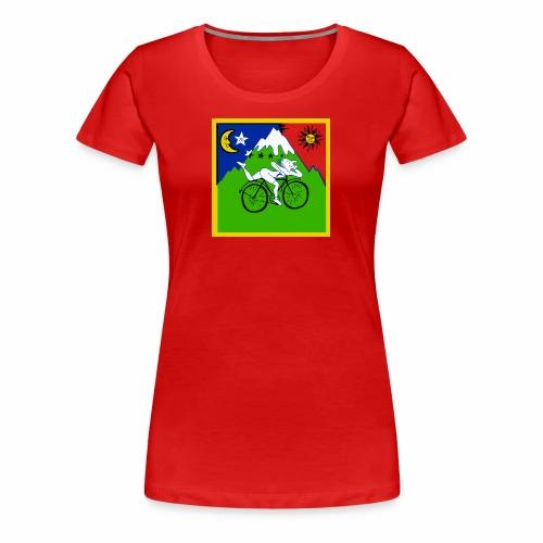 Bicycle Day Red Women - Women's Premium T-Shirt