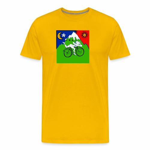 Bicycle Day Yellow Mens - Men's Premium T-Shirt