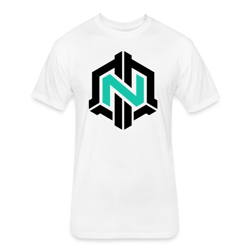 SouljiahXD -  Fitted Cotton/Poly T-Shirt by Next Level White No Mission  - Fitted Cotton/Poly T-Shirt by Next Level