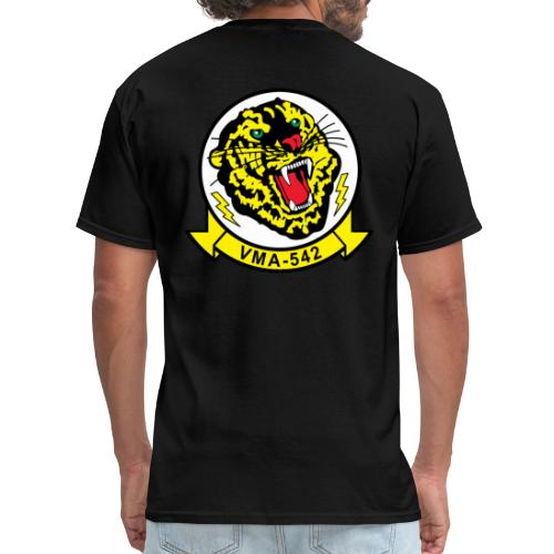 VMA-542 Tigers with Ordnance Wings - Men's T-Shirt