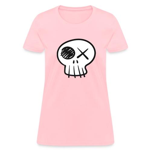 Funny Skull - Women's T-Shirt