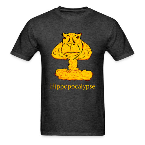 Hippopocalypse T-shirt - Men's T-Shirt