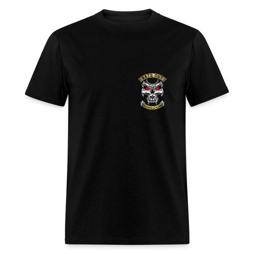 Bats Out Cycling_Dark - Men's T-Shirt