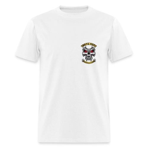 Bats Out Cycling_Light - Men's T-Shirt