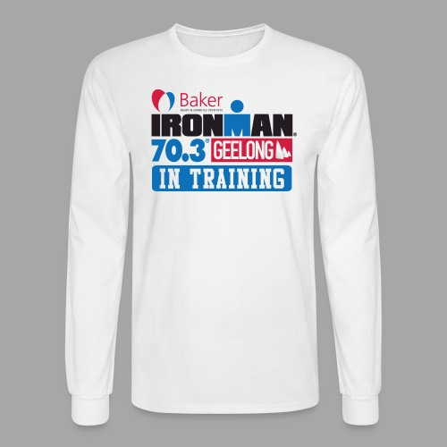 70.3 Geelong In Training Men's Long Sleeve T-shirt - Men's Long Sleeve T-Shirt