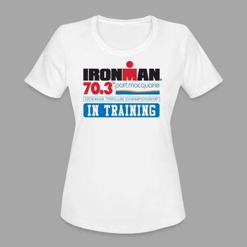 70.3 Port Macquarie In Training Women's Moisture Wicking Performance T-Shirt - Women's Moisture Wicking Performance T-Shirt
