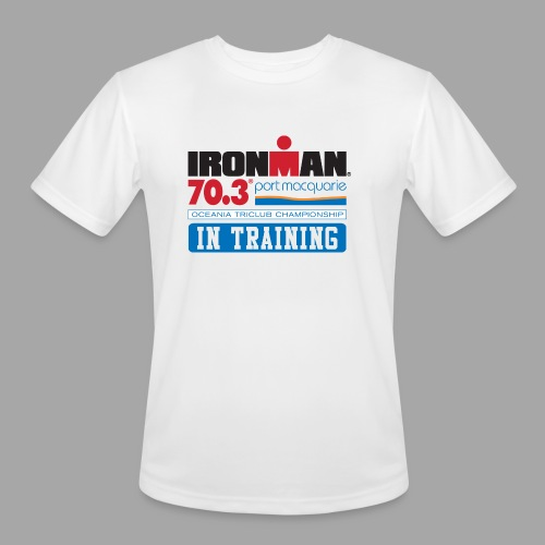 70.3 Port Macquarie In Training Men's Moisture Wicking Performance T-Shirt - Men's Moisture Wicking Performance T-Shirt