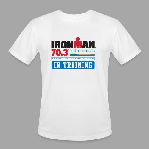 70.3 Port Macquarie In Training Men's Moisture Wicking Performance T-Shirt - Men's Moisture Wicking Performance T-Shirt