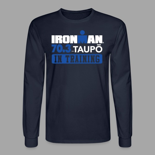 70.3 Taupo In Training Men's Long Sleeve T-shirt - Men's Long Sleeve T-Shirt