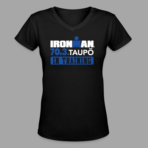 70.3 Taupo In Training Women's V-Neck T-shirt - Women's V-Neck T-Shirt