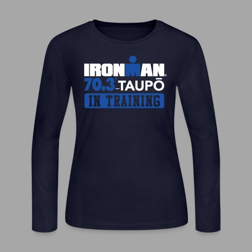 70.3 Taupo In Training Women's Long Sleeve T-shirt - Women's Long Sleeve Jersey T-Shirt