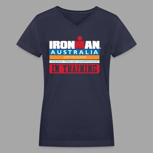 IM Australia In Training Women's V-Neck T-Shirt - Women's V-Neck T-Shirt