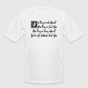 One ring to rule them all T-shirts (manches courtes) - T-shirt grande taille homme