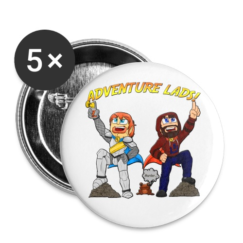 Adventure Lads Buttons - Large Buttons