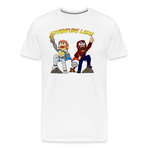 Men's Adventure Lads Plus sized T-shirt - Men's Premium T-Shirt