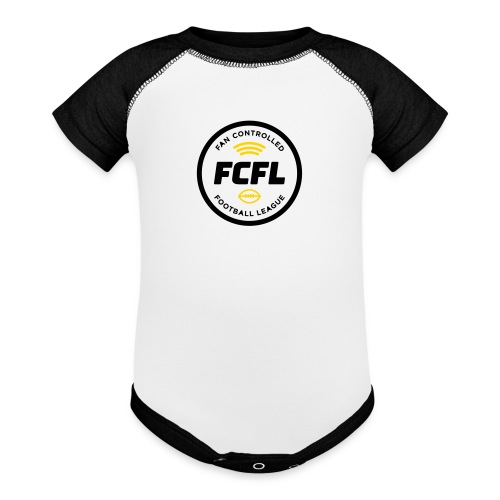 Baby Onesie - Official FCFL Logo + Lifelong Fan - Baby Contrast One Piece