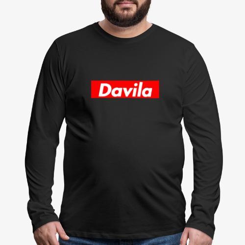 Davila Sweatshirt - Supreme Limited Edition - Men's Premium Long Sleeve T-Shirt