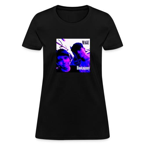 Hoot Nanny Alden & Gabe (Womens) - Women's T-Shirt