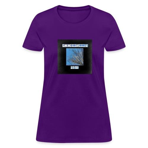 Hoot Nanny Album Cover (Womens) - Women's T-Shirt