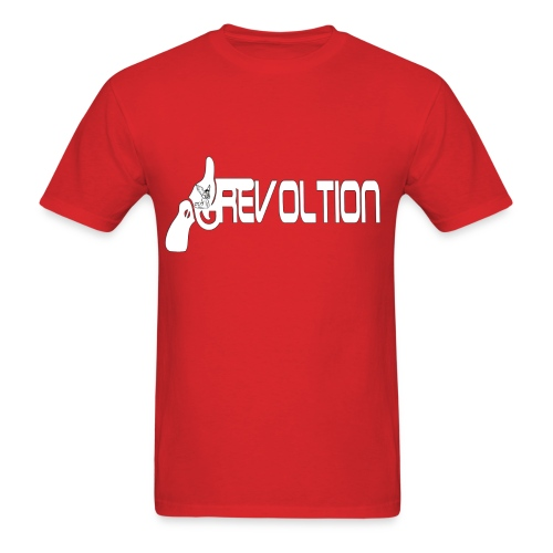 RevolutionGun - Men's T-Shirt