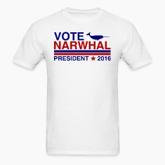 Vote Narwhal 2016 T-Shirts