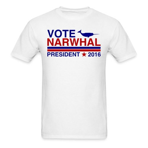 Vote Narwhal 2016 - Men's T-Shirt
