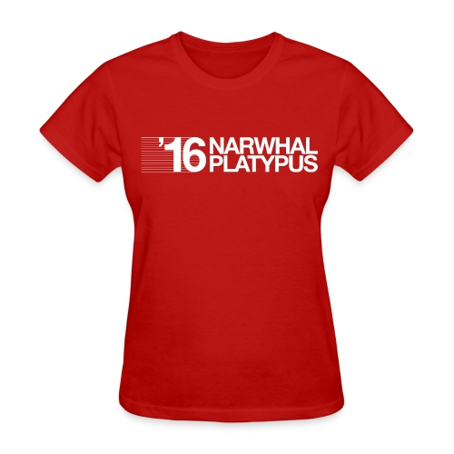 Narwhal Platypus - Women's T-Shirt