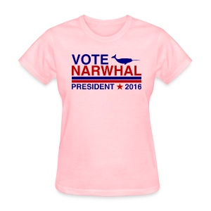 Vote Narwhal 2016 - Women's T-Shirt