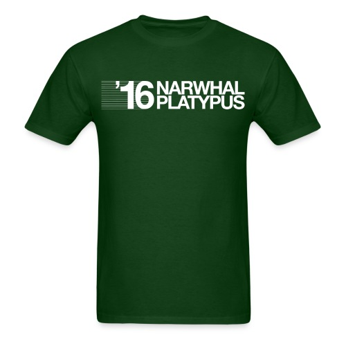 Narwhal Platypus - Men's T-Shirt