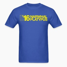 Narwhal + Platypus 2016 Yellow T-Shirts