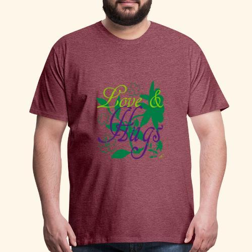 Love and Hugs - Men's Premium T-Shirt