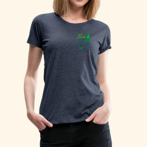 Love and Hugs - Women's Premium T-Shirt