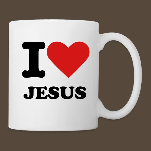 I Heart Jesus Coffee Mug - Coffee/Tea Mug