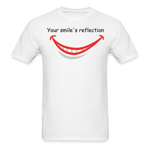 your smile's reflection - Men's T-Shirt