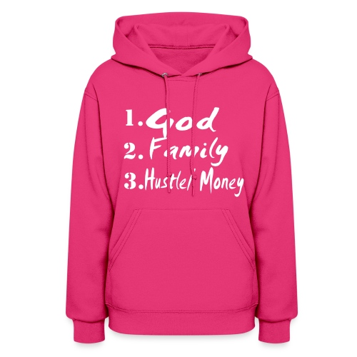 God Family Money Hoodlie - Women's Hoodie