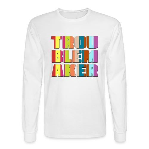 VT_TroublemakerCutout_LongsleeveM - Men's Long Sleeve T-Shirt