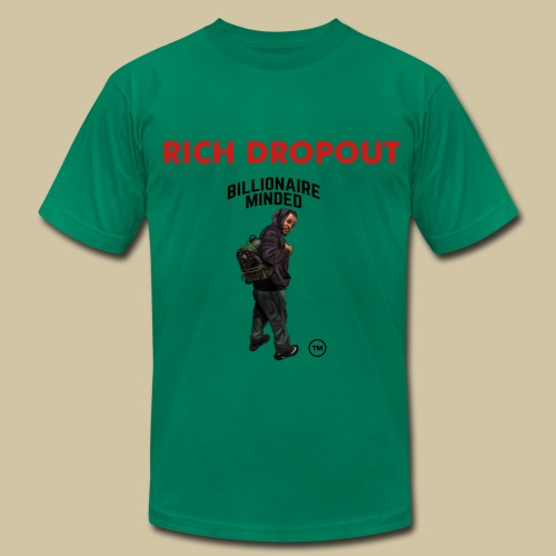 RICH DROP OUT TEE - Men's Fine Jersey T-Shirt