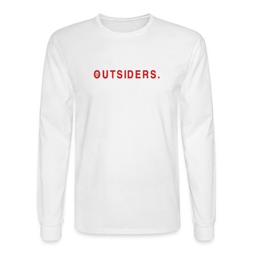 OUTSIDE THE BOX. - Men's Long Sleeve T-Shirt