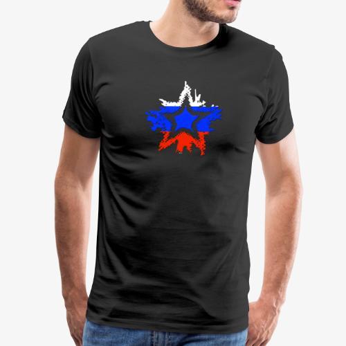 Russia Star - Men's Premium T-Shirt
