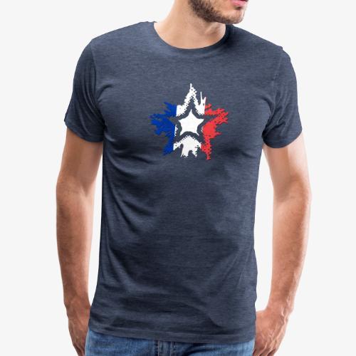 France Star - Men's Premium T-Shirt