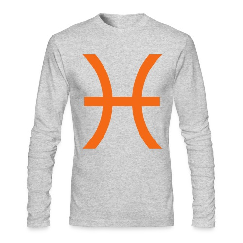 Pisces - Men's Long Sleeve T-Shirt by Next Level