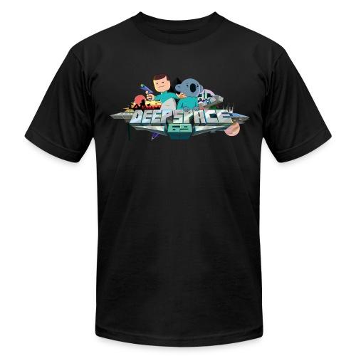 Deep Space - Logo - Men's Fine Jersey T-Shirt