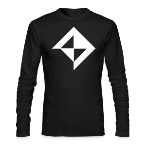 Vault in White - Men's Long Sleeve T-Shirt by Next Level